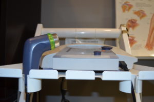 Ultrasound machine used by Boehm's Physiotherapy